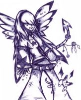 Punk Rock Angel by BulletMistress