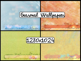 Seasonal Wallpapers by laluzz
