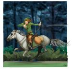 Robin Hood Riding by m2mazzara