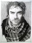 Ian Somerhalder by EldalinSkywalker
