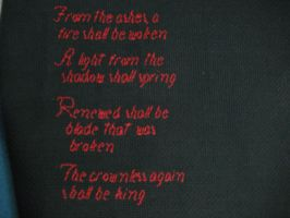 LOTR quote by dottypurrs