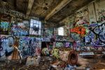 Graffiti Building HDR by Doogle510