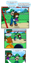 Pun at the Park by Nintendrawer