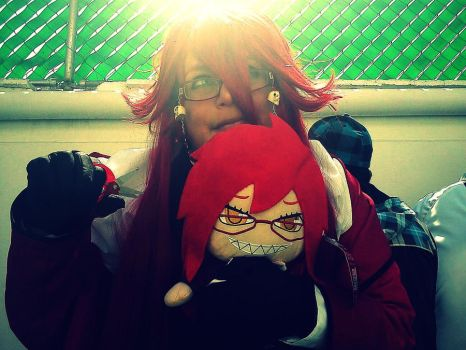 Grell and Grell by YumeMusume