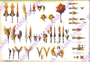 Dire Miralis Weapon Page by Bnaha
