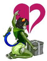 Happy 12th Perigee's Eve Nepeta! by Zee-Rage-Man