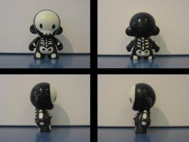 Skeleton Munny by Hambuster122
