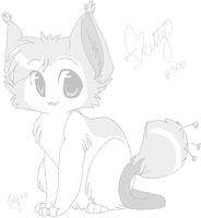 Skitty the Almost ID by drill-tail