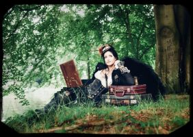 Old stories ..  steampunk by S-T-A-R-gazer