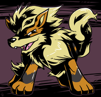 Dekopon Arcanine by raizy