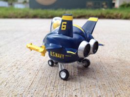 Egg Plane F/A-18 Hornet Blue Angels by Jetster1