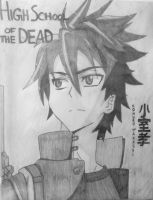 H.O.T.D. Komuro - The Day The World Came To An End by DeadBunnyKillMeSlow