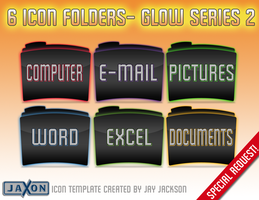 Glow Icon Series 2 by JayJaxon
