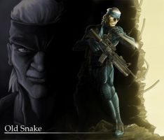 Old Snake by fatboy210
