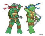 SD Leo and Raph by zaionic