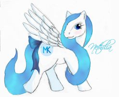 Me as a My Little Pony by Nethilia