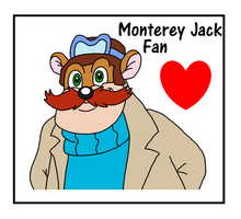 Monterey Jack stamp by CatDasher