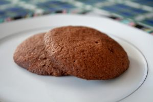 chocolate cookies by Sintorion
