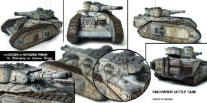 Macharius Battle Tank by ARKURION
