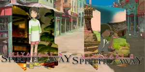 Spirited Away Double Icons by ozzi9816