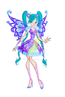 Winx: Fabia Butterflix by DragonShinyFlame