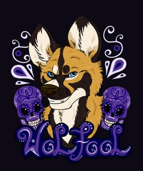 Confuzzled 2016 Badge by Wolfool
