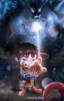 DEMONG3 : Among The Sleep by DemonG3