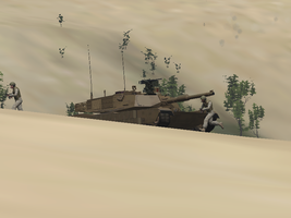 M1A2 Tank by BillyM12345
