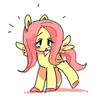 a tiny fluttershy! by pittosporum