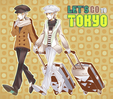 Let's go to Tokyo! by Leaf-subway