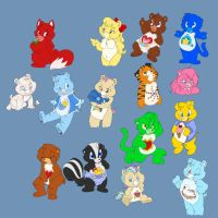 Care Bears Galore by ThisCrispyKat
