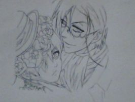 Ciel and Sebastian by Dylan367