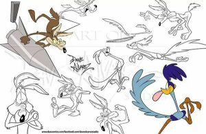 Coyote Road Runner sheet by DaveAlvarez