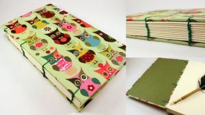 Colorful Owl Journal by GatzBcn