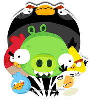 ANGRY BIRDS FANART by ELECTRICPOPPERS