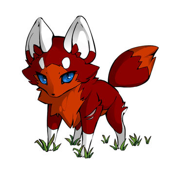 Flamefoot As A Fox(upgraded) by flamefoot15