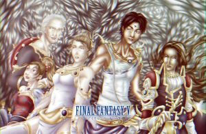 Final Fantasy V by Sin-nombre