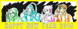 Happy New Year 2014 by MoPotter