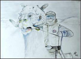 Patrol On Hoth by philippeL
