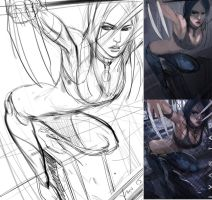 X 23 Step by step by iVANTAO