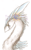 Feathered Beauty by LumoreanArts