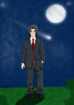 Itachi In A Suit by mo3ali