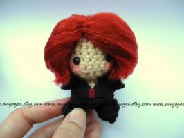 Black Widow Amigurumi by AnyaZoe