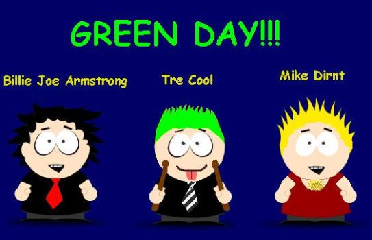 south park green day 1 by Jins-girl