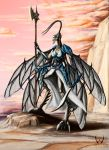 Paladin Insect by LordDracoArgentos