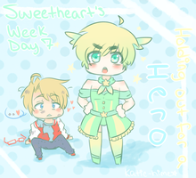 Sweetheart's Week Day 7: Holding out for a HERO by black-feather1013