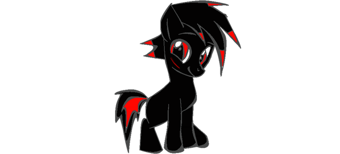 dark fate as a demon filly by elitepegasister