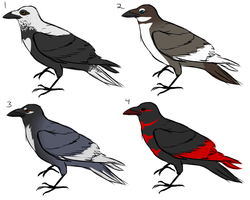 Raven adoptables by eco226
