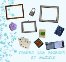 stock object frames by alixia88