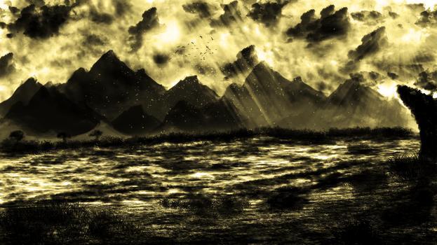The Mystical Mountains by DooDLe125